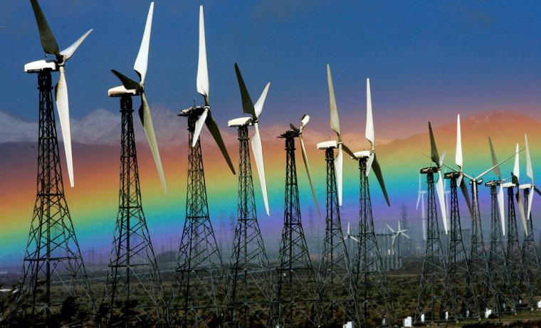 Image: Windmills near Palm Springs, Calif.