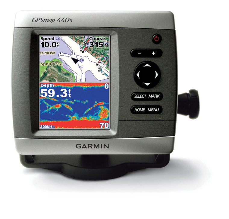 Image: Garmin GPSmap 440s Fishfinder Chartplotter