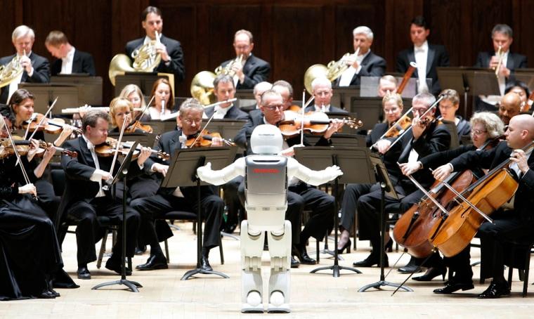 Image: Honda's ASIMO robot