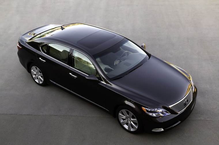 The 2008 Lexus LS600h, one of which was given by the company to Paul McCartney, is a hybrid that delivers more efficient performance while still proving fast at a top speed of 155 mph.