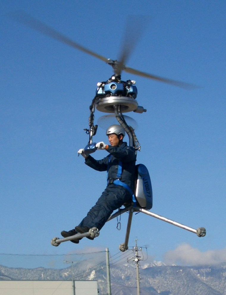 Image: Smallest helicopter