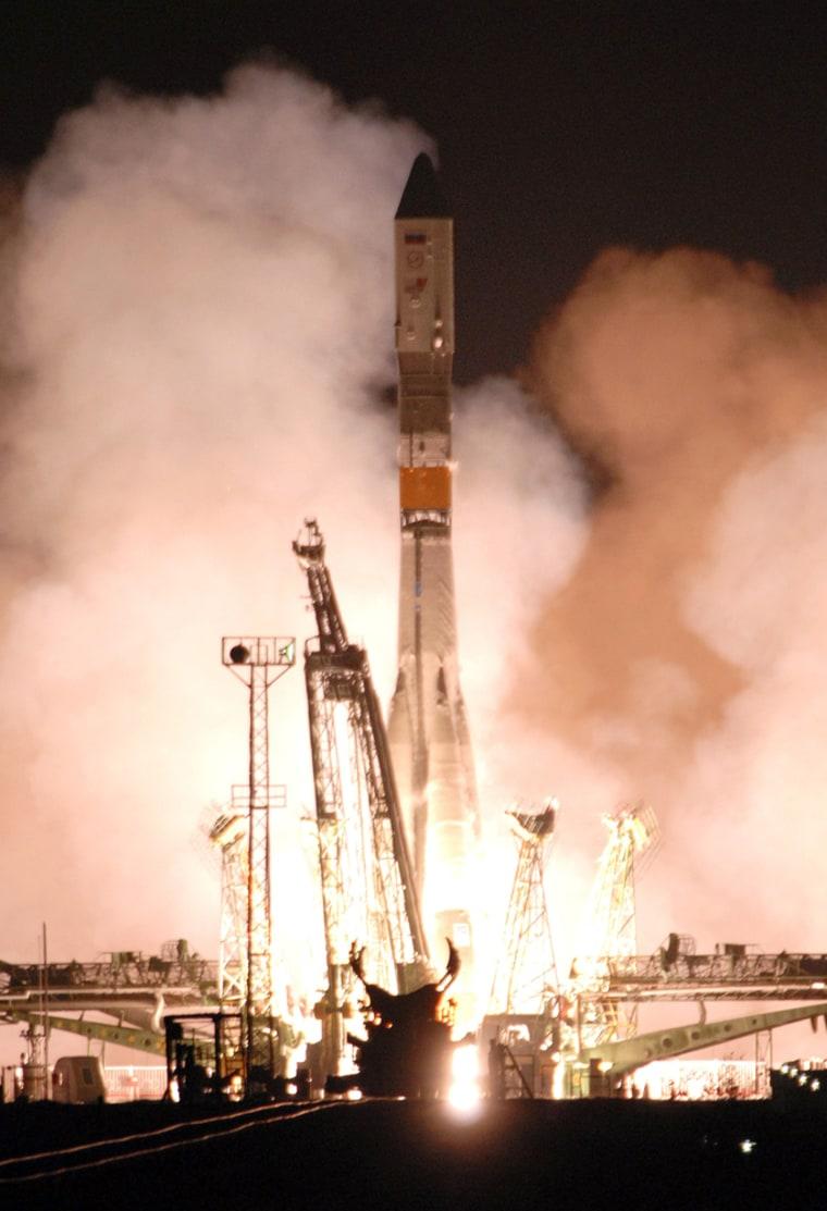 Image: Russian-made rocket booster Soyuz-U