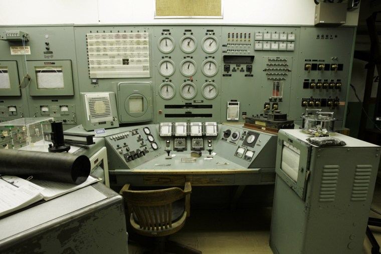 Image: The control room at the Hanford nuclear reservation