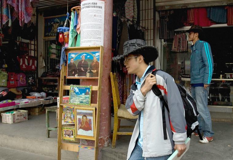 Image: Tourism in Tibet