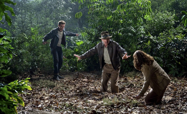 """Image: Scene from \""""Indiana Jones and the Kingdom of the Crystal Skull\"""""""
