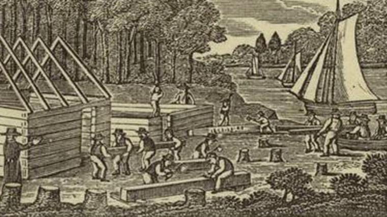 Image: Jamestown, Virginia, 1607