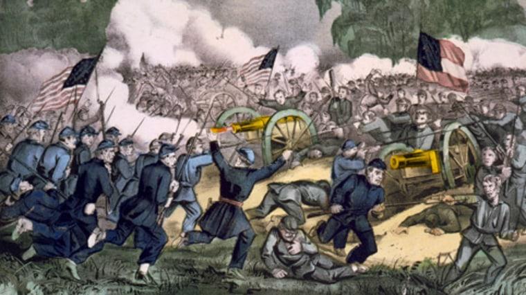 Image: Gettysburg battle