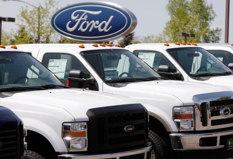 Image: 2008 Ford Super Duty pickup trucks