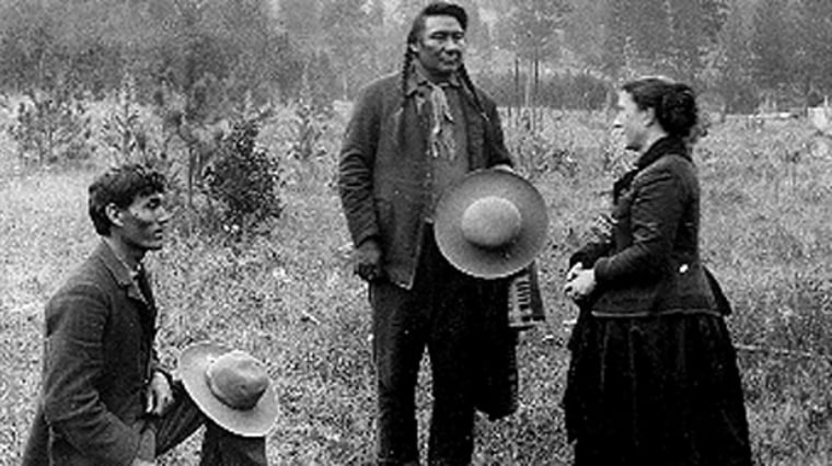 Image: Alice Fletcher and Chief Joseph