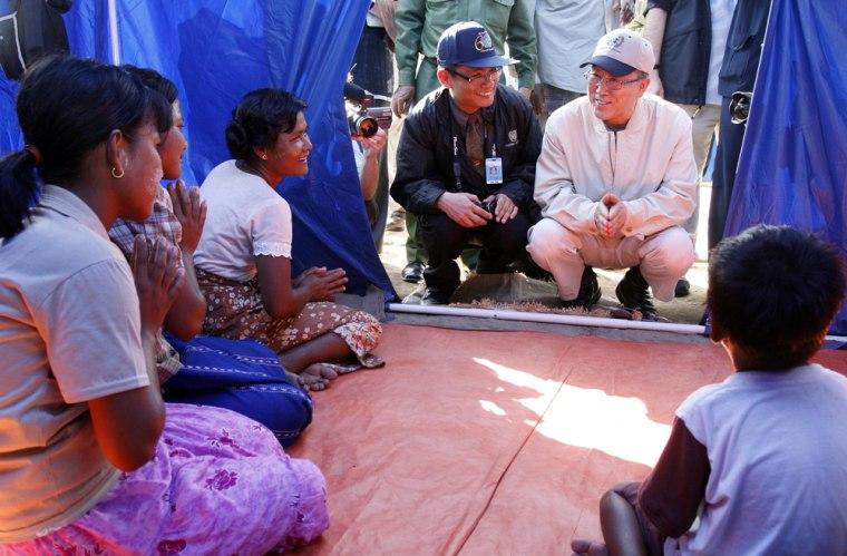 Image: U.N. chief Ban Ki-moon