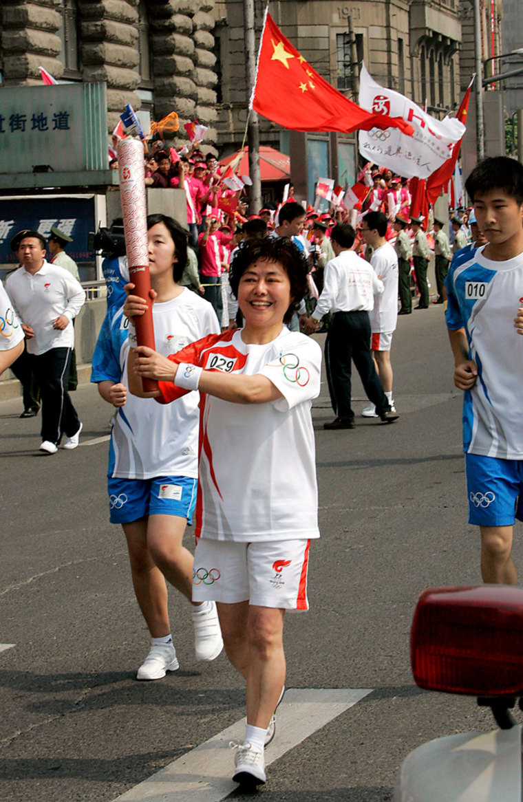 Image: China Olympic torch