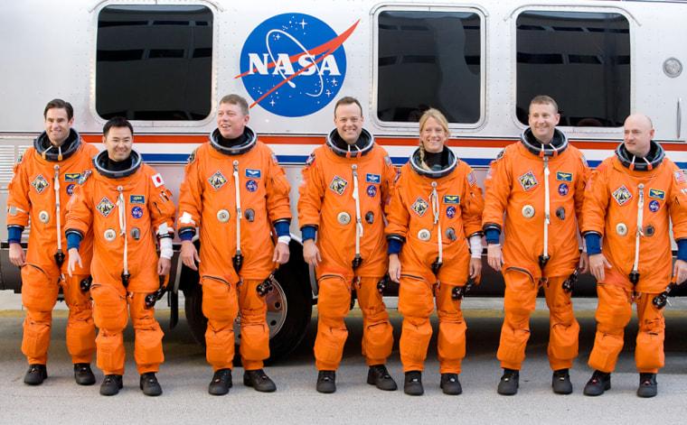 Image: Shuttle Astronauts