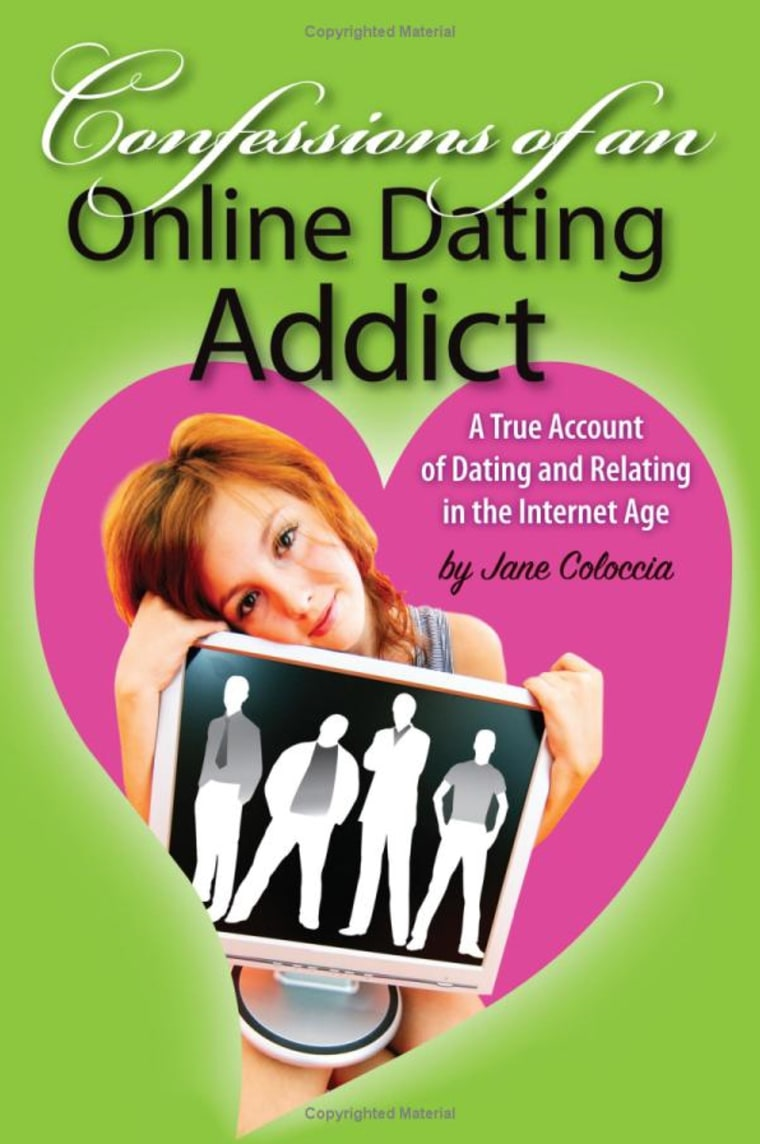 """Image: book cover \""""Confessions of an Online Dating Addict\"""""""