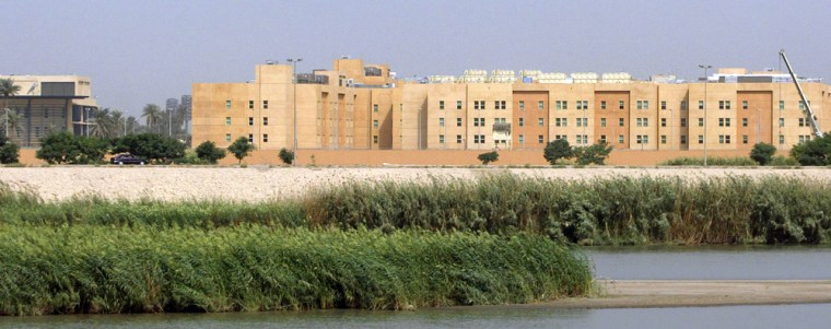 Image: US embassy complex in Baghdad