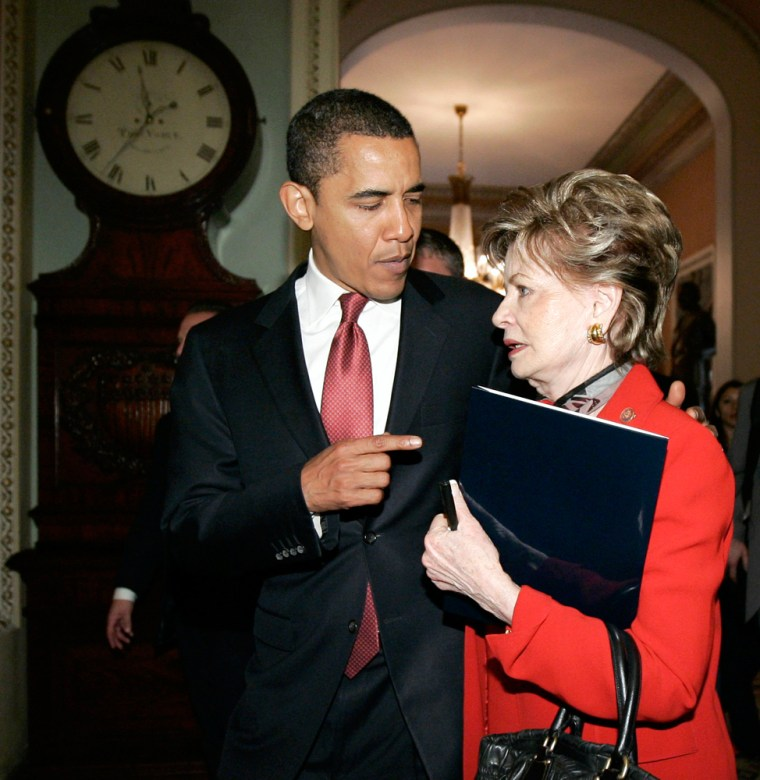 Image: Barack Obama, Madeleine Bordallo