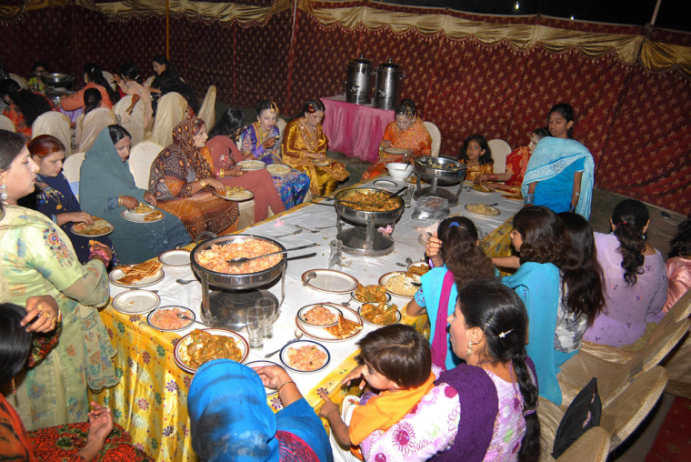 Image: Wedding party in Pakistan