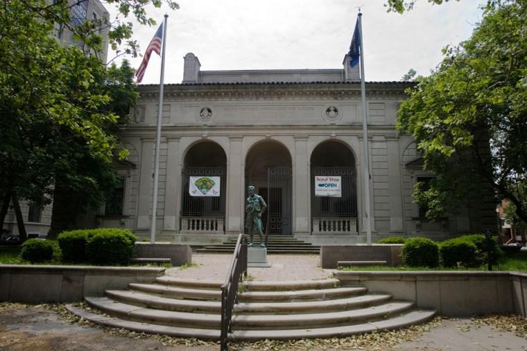 Image: Boy Scouts headquarters in Philadelphia
