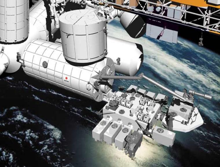 Image: Japan Aerospace Exploration Agency's Kibo laboratory