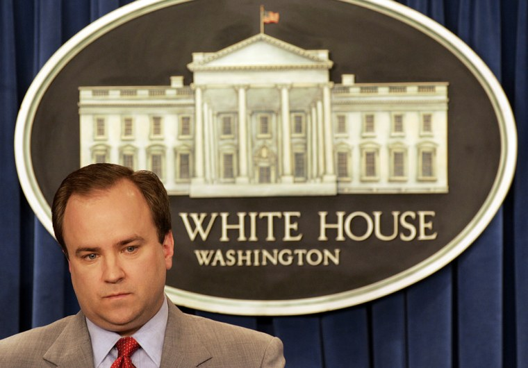 Image: Former White House spokesman Scott McClellan