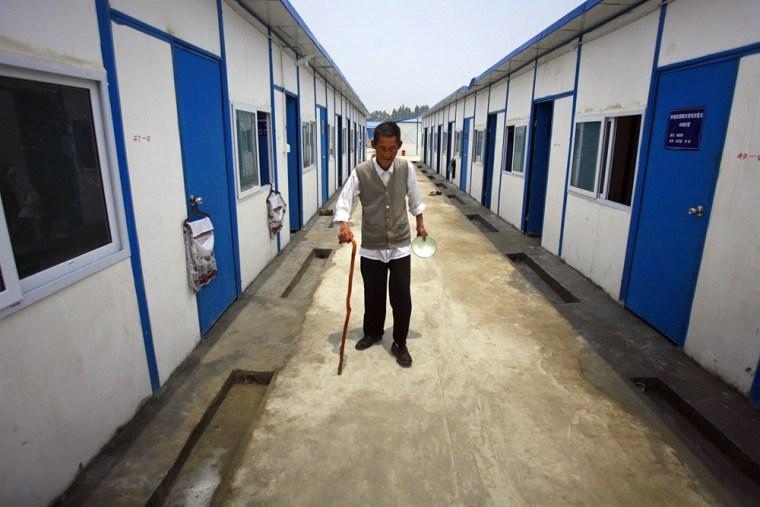 Image: Earthquake survivor
