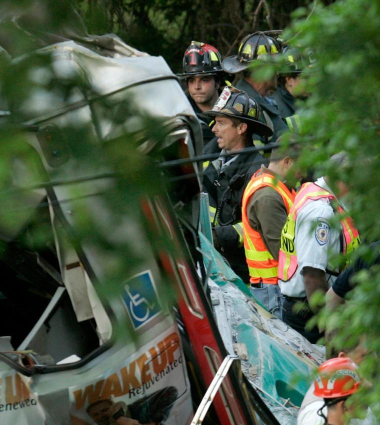 Image: Train collision