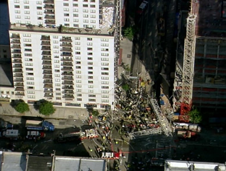 Friday's crane accident was the second deadly one in 2 1/2 months in New York City,which is in the midst a building boom.