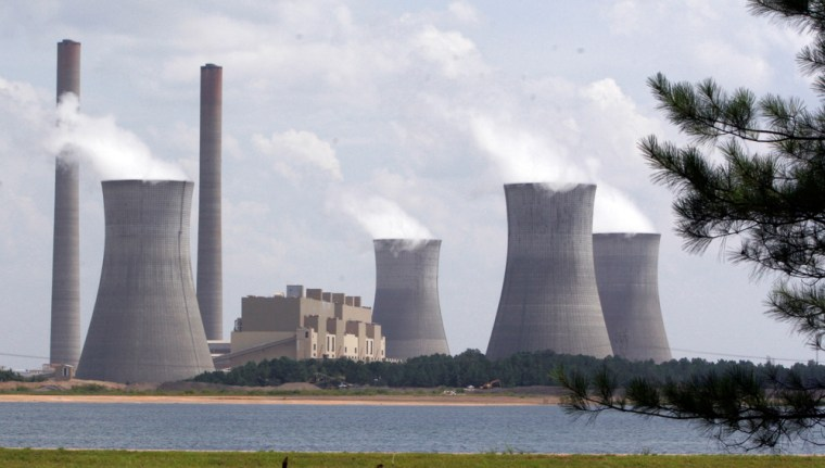 This coal-fired power plant in Juliette, Ga., has for several years been the nation's single largest source of carbon dioxide.