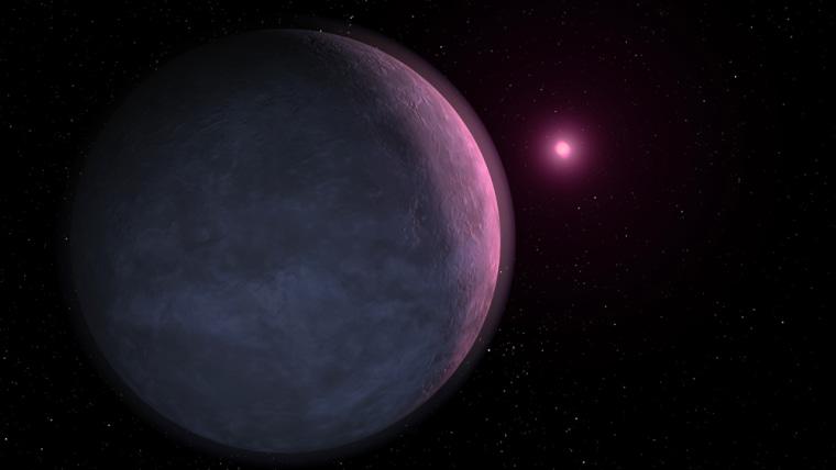 Image: Extrasolar planet