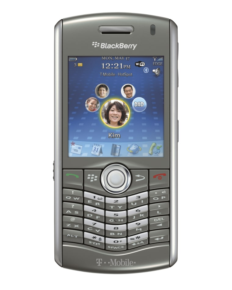 Image: BlackBerry Pearl 8120
