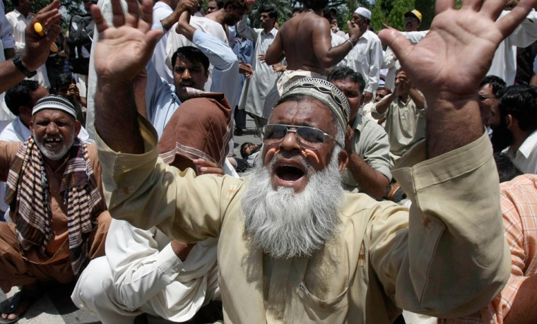 Image: Protest in Pakistan