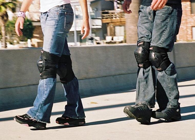 Image: Wheeled shoes