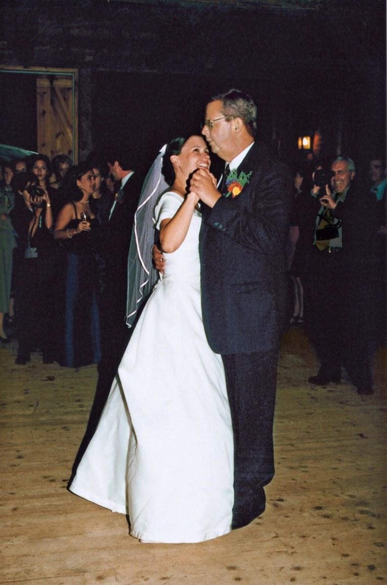 Image: Dancing at a wedding