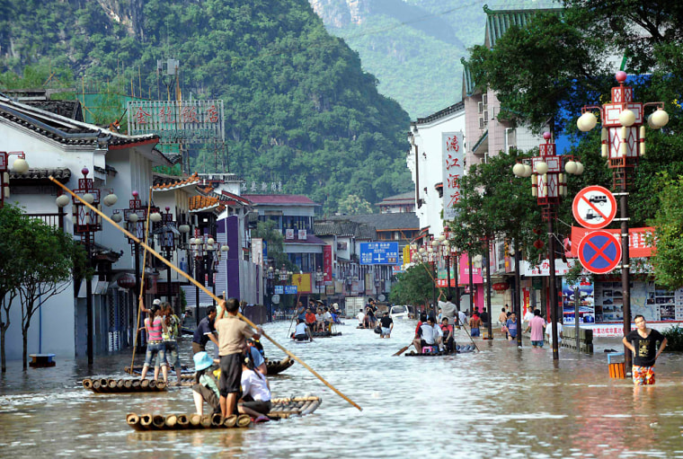 Image: Flooding in China