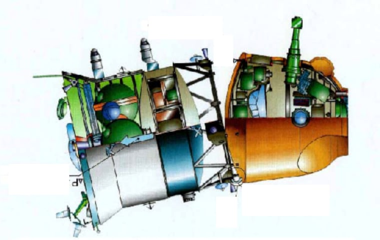 Image: Soyuz separation failure