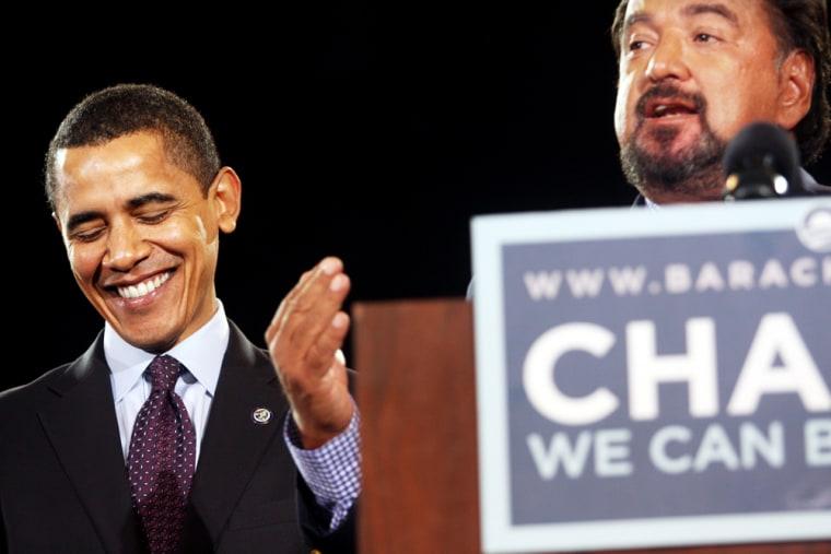 Image: Barack Obama, Bill Richardson