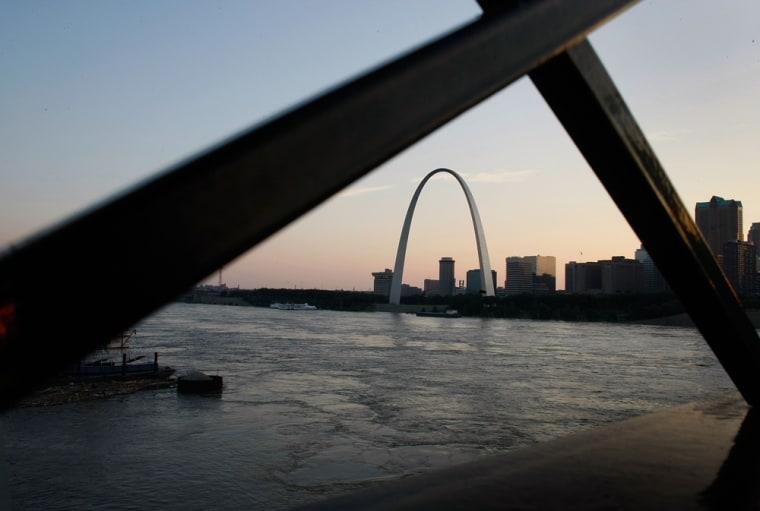 Image: St. Louis flooding