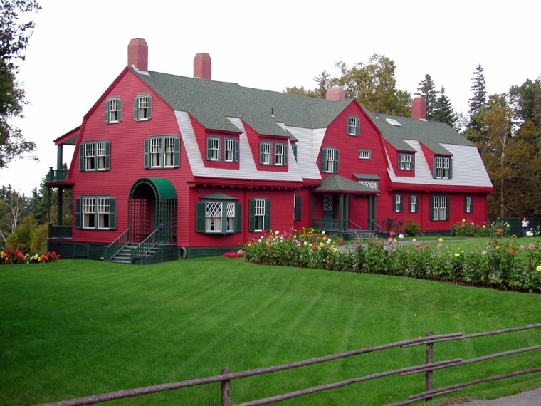 Image: The Roosevelt cottage