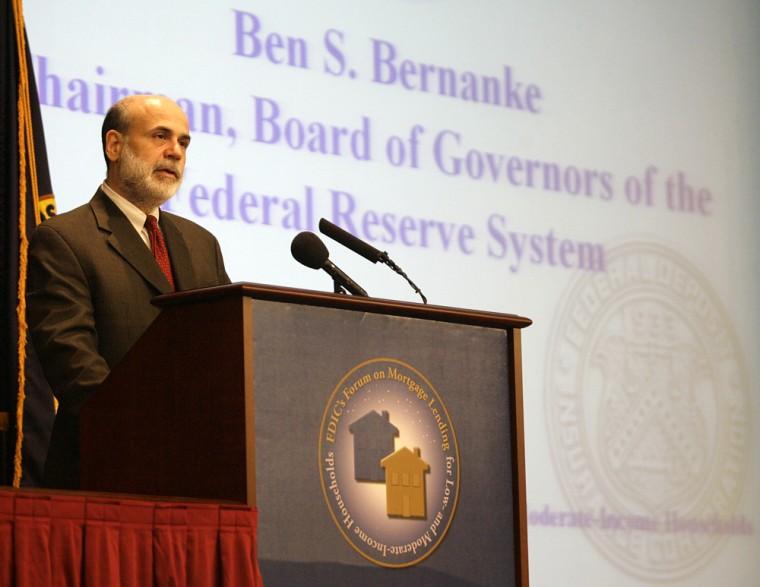 Image: Federal Reserve Chairman Ben Bernanke