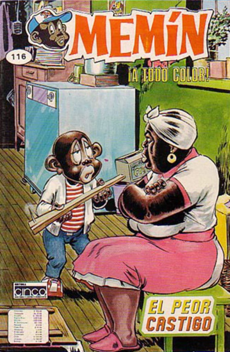 The comic, first published in the 1940s, revolves around Memin Pinguin, a small Mexican-Cuban boy whose street smarts and adventures reflect the life of a poor boy in Mexico City. The boy, portrayed as a likeable rascal, earns money shining shoes and selling newspapers to help his mother.
