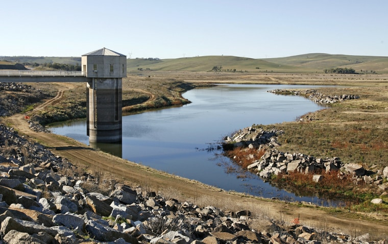 Image: Pejar Dam near Goulburn in the Australian state of New South Wales