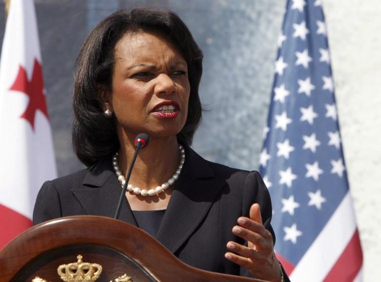 Image: Condoleezza Rice