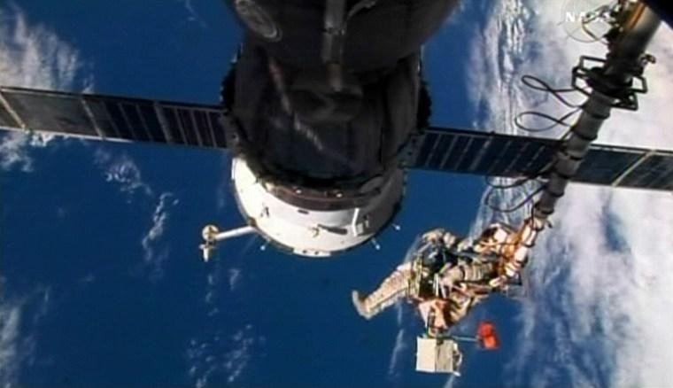 Image: spacewalk
