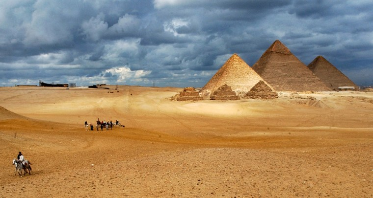 Image: Giza Pyramids