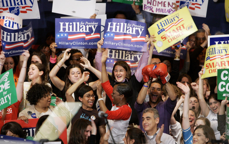Image: Hillary Rodham Clinton supporters