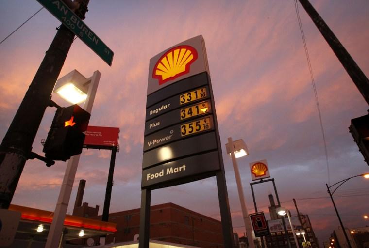 Image: U.S. gas prices