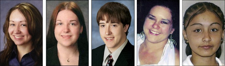 Image: Victims of the Northern Illinois University shooting
