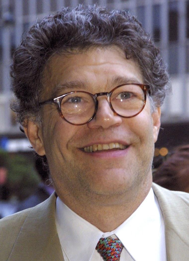 Comedian Al Franken, June 16, 2003, in New York.