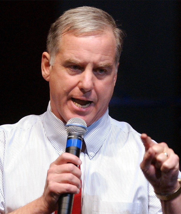"""Howard Dean Holds \""""All I Want for Christmas is My Country Back\"""" Event"""