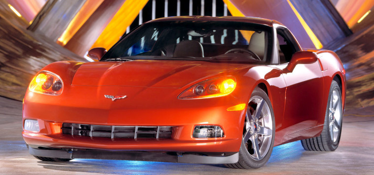 The 2005 Corvette C6is one of the new models being unveiled in Detroitat theNorth American International Auto Show.