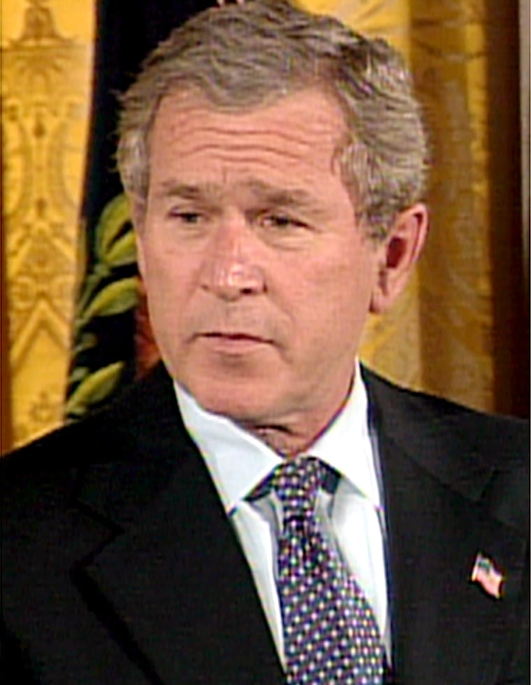 President Bush addressed lawmakers and immigration activists at the White House.